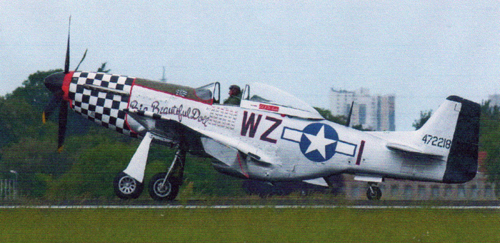 Certain versions of the P-51 Mustang used Merlin engines built by Packard under license to Rolls-Royce.