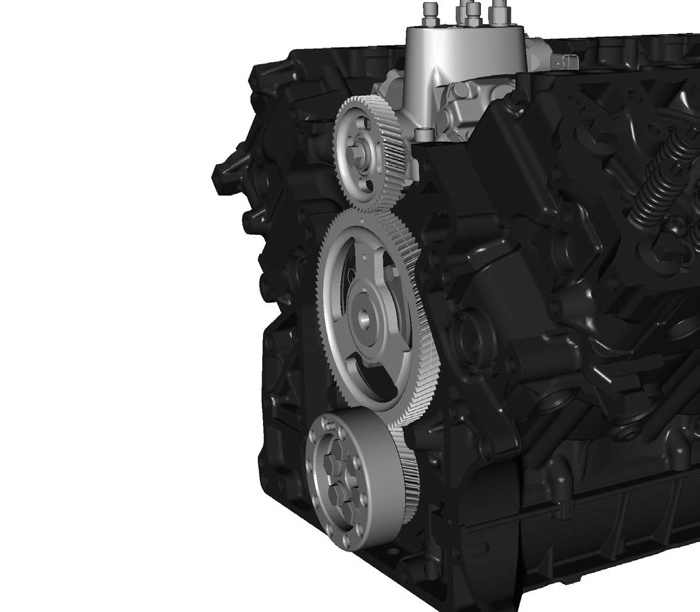 The Highpressure Turbo 15 Fuel Injection Pump: 2003 Ford 6 0 Engine Diagram Gear At Satuska.co