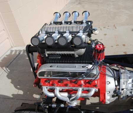 Pump Gas Nailhead Build Takes Innovative Engineering Skill