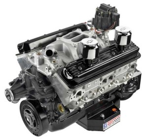 GM Performance Parts offers a basic crate engine package for IMCA racing and other circle track racing classes, however, it is pretty basic and engine builders should be able to improve upon the performance of this standard small block. Some classes require this engine to be sealed.