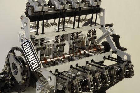 The type of parts you ultimately choose will depend on the application (street performance, circle track, drag, marine, etc.) and any rules that restrict the type of camshaft, lifters or other valvetrain components that are allowed. (Photo courtesy of Crower)