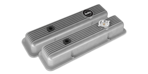 Holley Muscle Series Small Block Chevy Valve Covers - Engine Builder Magazine
