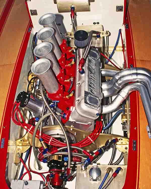 Gearte midget motor