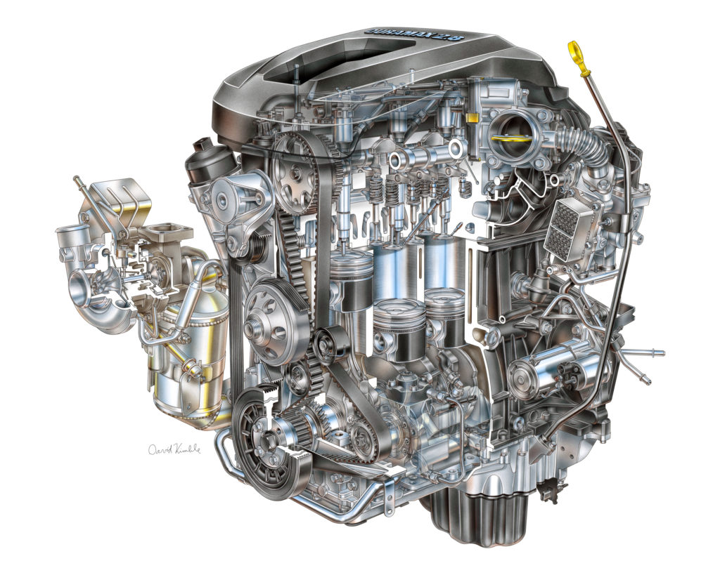 Small Diesels Big Future What New 28l 30l Diesel Engines Bring 2014 Gm 4 3l Engine 2016 Duramax I Turbo Lwn For Chevrolet Colorado And Gmc Canyon David Kimble Illustration