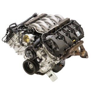 """Coyote"" crate engines are backed by a 2 year/ 24,000 mile warranty except for the M-6007-M50S which is the ""sealed"" version for racing. Ford Racing also has many performance parts available to upgrade your  Coyote from camshafts, ­intakes, cylinder heads, and superchargers."