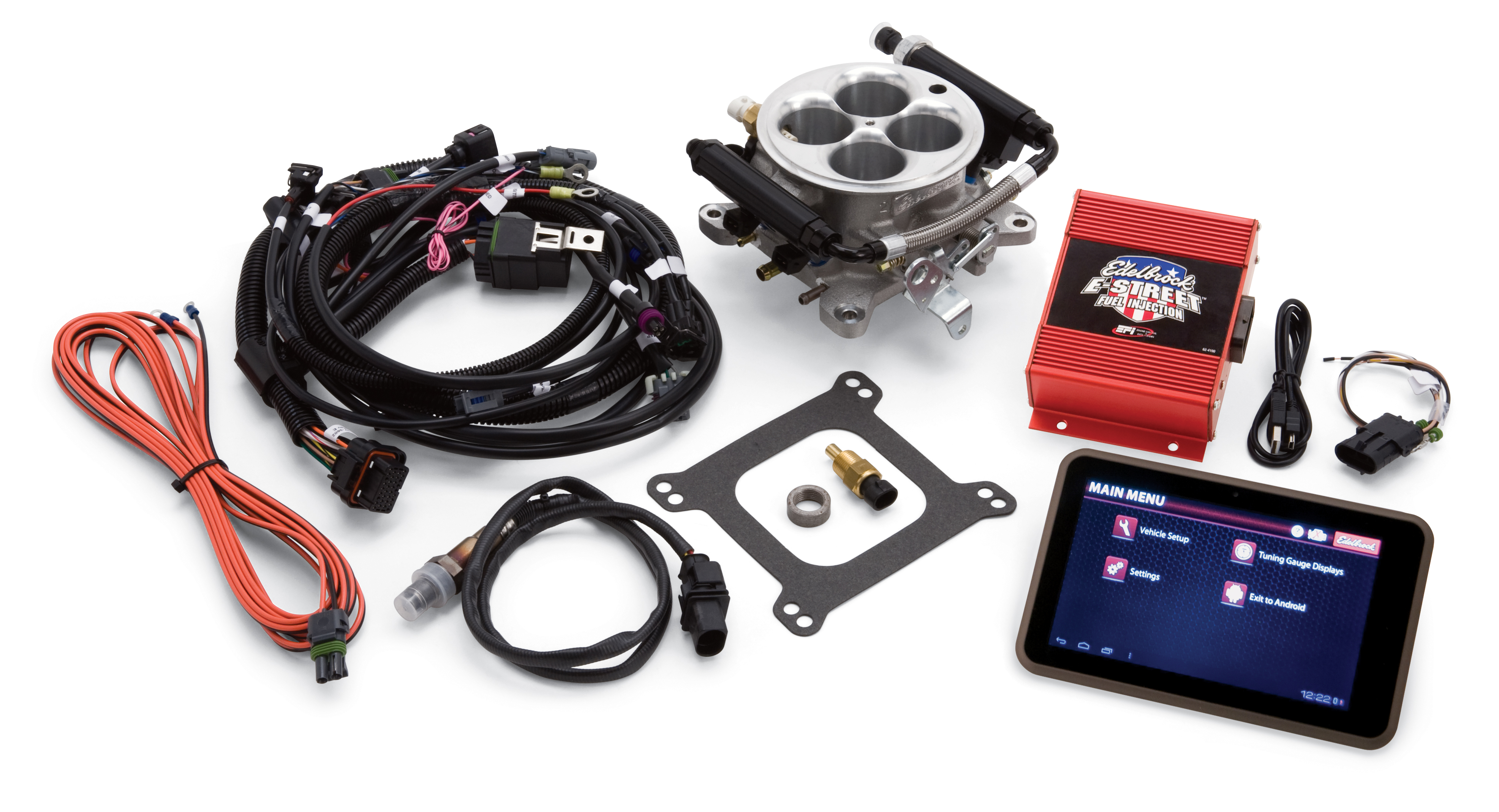 The E-Street EFI System is intended as an affordable, easy to use, fuel  injection solution that can be installed on any V8 engine, originally  equipped with ...