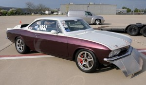 This '66 land speed Corvair looks stock from the outside, but that sure isn't the case under the body.