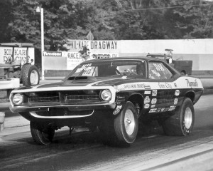 '70 Barracuda Super Stock car was one of Tony's early drag machines. It had a 440 6-Pack with a 446 block, roller cam and ran in the mid-10s.