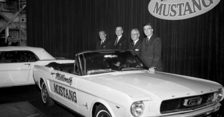 Ford's 1 millionth Mustang
