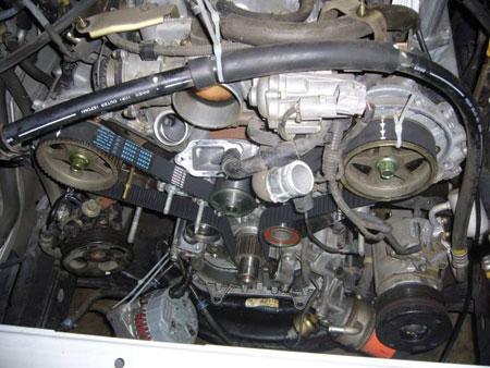Toyota V8 UZ Engine Timing Belt Issues - Engine Builder Magazine
