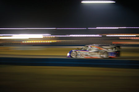 oil takes a beating in any endurance race, but it's off the charts in a photo by brendan baker of this year's rolex 24 hour race in daytona.