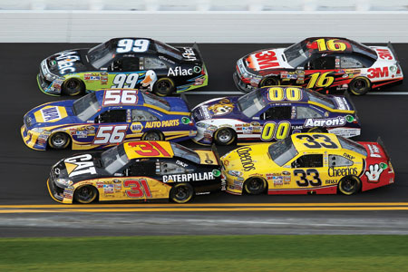 drafting at daytona international speedway and other tracks may be the fastest way around the circuit, but aerodynamics isn </p> </p>					</div> 									</div><!--mvp-content-main--> 									<div class=