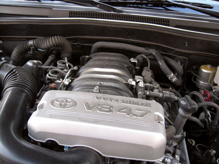 with the addition of vvt-i technology (variable valve timing with intelligence), this engine became the standard engine for toyota v8 trucks up to 2010 (2011 in the land cruiser).
