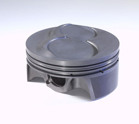 some performance pistons may be vented vertically or horizontally with gas ports to help ring sealing at high rpm.