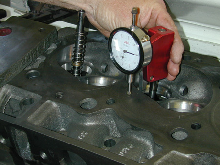 Every engine builder needs an accurate measuring tool for referencing the valve seat to cylinder head deck to quantify precise locations with something such as this CalSpec tool.