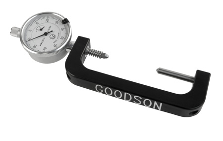 this rod bolt stretch gauge is accurate to .001? and features a 1 1/2? dial gauge. heavy-duty tension spring for repeatable accuracy. for bolts from 1? to 2 1/2? long.