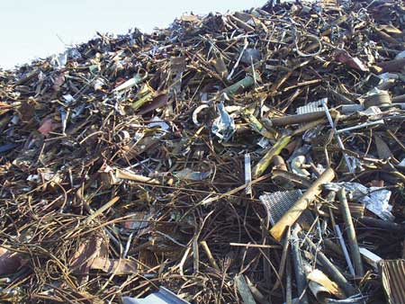 74 million metric tons of ferrous scrap was processed by the scrap recycling industry in 2011.