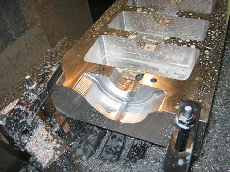 if you can design, map and program a part for a cnc machine, figure out a way to fixture it and acquire the right machine tools to cut it, the only limitations on what you can do are the physical dimensions of the part you want to machine and the size limitations of your cnc equipment.