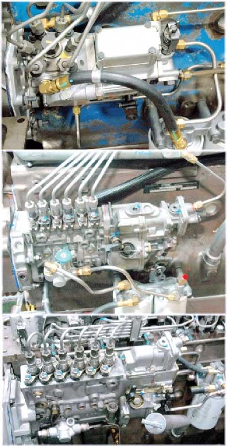 Rebuilding Navistar/International DT466 Diesel Engine
