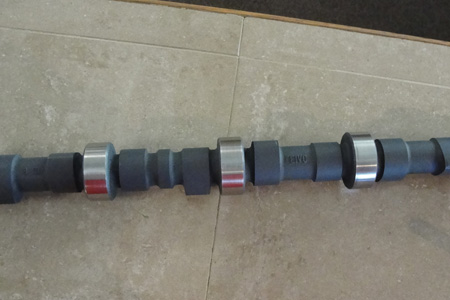 Because diesels require a lot of compression, camshaft duration tends to be short with minimal overlap.