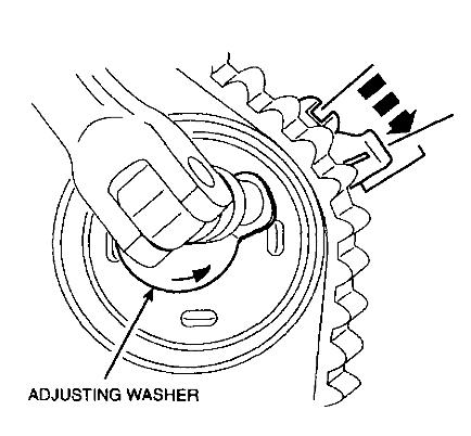 Revised Timing Belt And Tensioner Setup Procedure Ford 2 0l Engines
