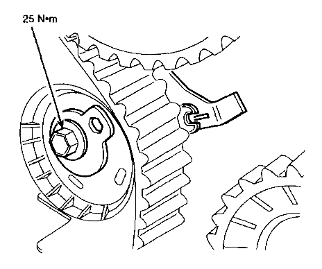 Revised Timing Belt And Tensioner Setup Procedure Ford 2 0l Engines