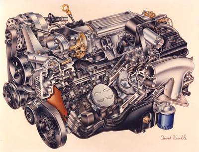 Cooler 'Heads' Prevail - Pouring Over GM's LT1 Engine and Reverse ...
