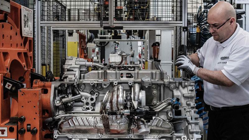 Aston Martin Koln Engine Plant Photo  (25)