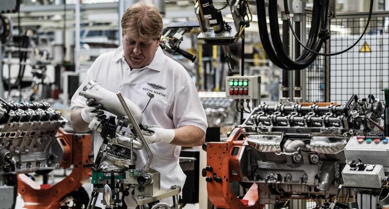 Aston Martin Koln Engine Plant Photo  (4)
