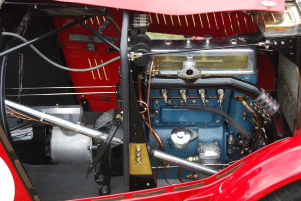 Midget racing engine parts