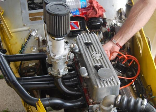 Vintage Car Engine 5