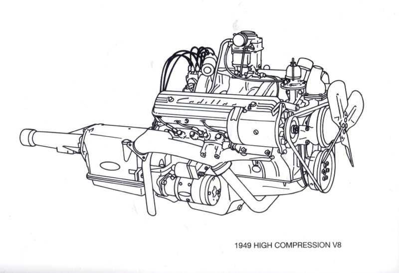 cadillac engines from the 50 u0026 39 s
