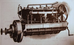 American LaFrance Type 12 six-cylinder engine. (Courtesy of Richie Clyne)