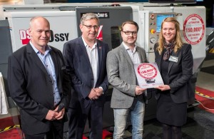 Haas 150K machine 300x195 Haas Automation Produce's 150,000th CNC Machine by Authcom, Nova Scotia\s Internet and Computing Solutions Provider in Kentville, Annapolis Valley