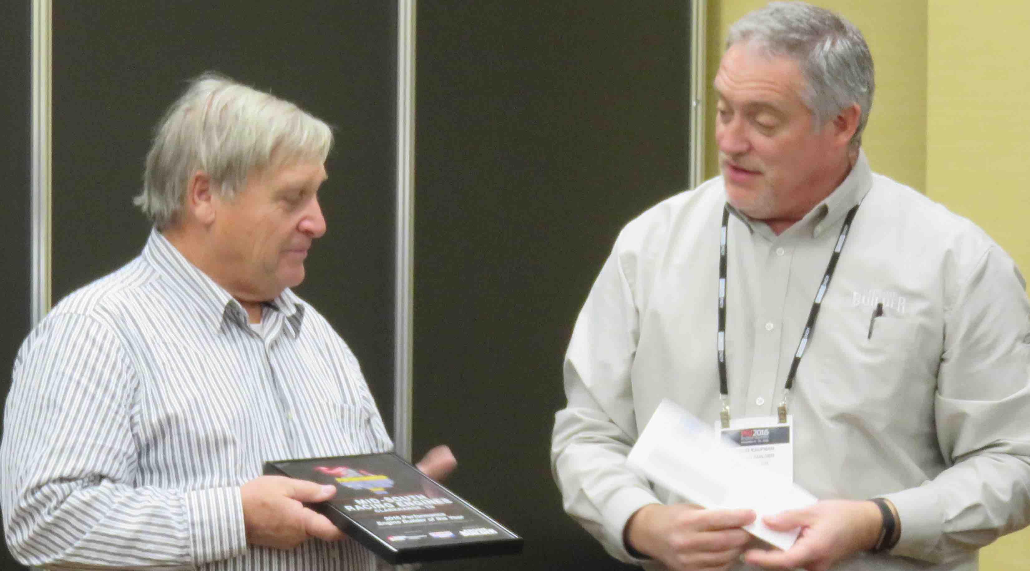 Larry Pritchett (left) and Doug Kaufman (right)