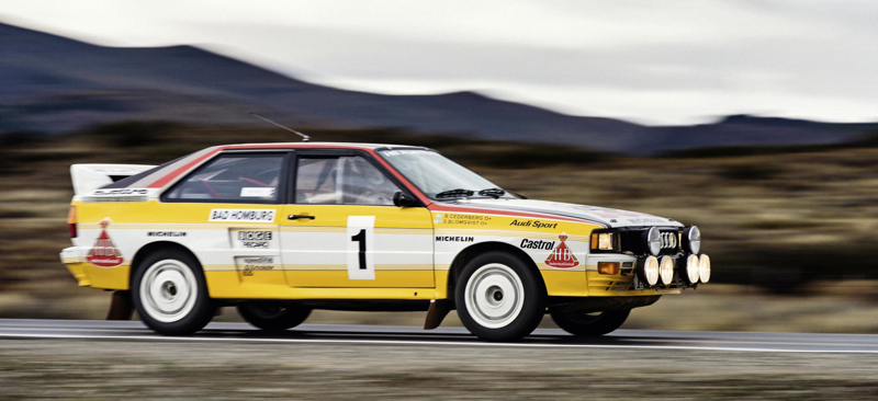 1983: five-cylinder engine triumphant in rallying
