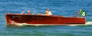 Just as with classic cars, there's big interest in boats from the '30s, '40s and '50s, which represent lucrative repower opportunities. This wooden beauty is a classic post-war Chris-Craft cockpit cruiser.  Since they made hundreds of one-off and custom boats, it's almost impossible to tell what year or specific model this one is.  This is an example of a non-traditional marine engine job candidate.  people put tens and even hundreds of thousands into restoring and updating these boats and it's not uncommon to see a pair of old Chris/Graymarine straight sixes replaced with a pair of Big Block Chev engines. Photo courtesy of Pete B & seriousoffshore.com.