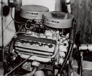 Prior to Newman's stint at Mercury Marine, owner Carl Kiekhaefer fielded a NASCAR team. His company had engine labs for working on mills like this one.
