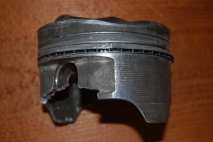 Determining why this piston broke was Owen Russell's job.