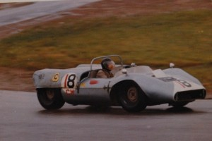 One of the many sports racing cars that Russell built and drove.