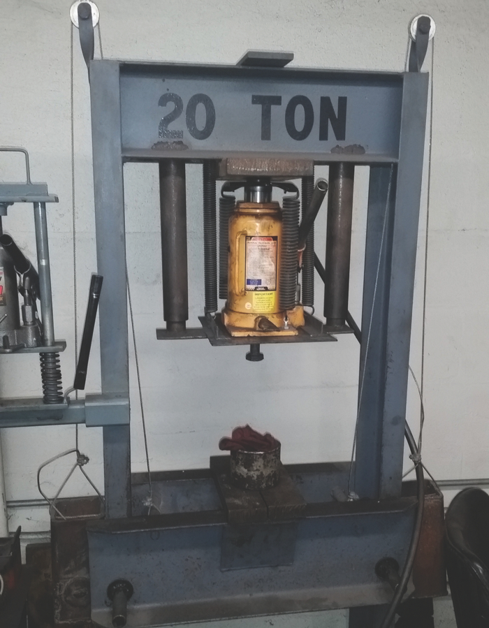 Steves 20 ton press