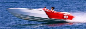 Unlike a typical automotive engine, marine engines spend their lives operating at higher rpm levels and at constant moderate to heavy load. A performance boat will be spending hours at 5,000-plus rpm at near maximum load.  A performance boat will be spending hours at 5000-plus rpm at near maximum load..