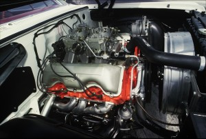 Chevrolet made fewer than 50 of the Z11 engine for drag racing. The engineers stroked out the 409 into 427, increasing the size of the engine by lengthening the stroke of the rods and not overboring the cylinders.