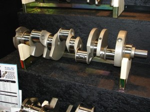 The journals on a high performance crank should be perfectly round and polished to specifications.    Photo courtesy of Scat Enterprises Inc.