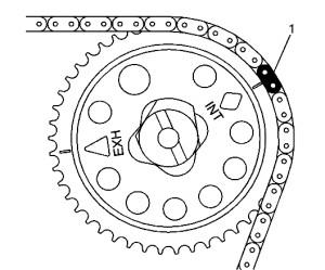 figure 2 300x249 timing chain service procedures gm 2 2l l61 ecotec, camshaft sprocket