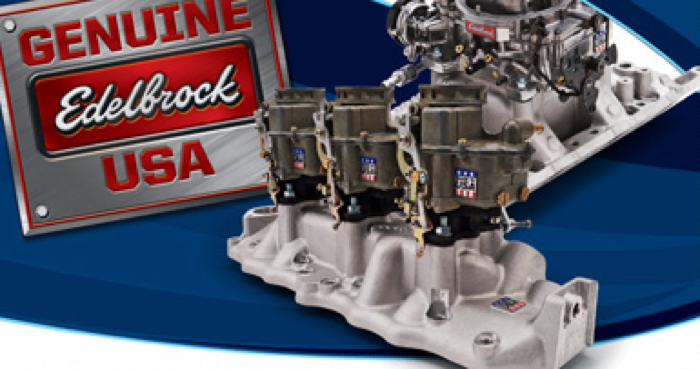 Edelbrock Offers Rebate with Carburetor or Manifold Purchase