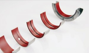 Polyamide coated Irox bearings not only provide added wear protection in Stop/Start engine applications, but also improved fatigue resistance (courtesy of Federal-Mogul).