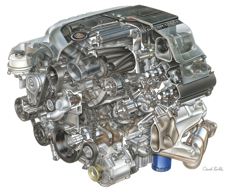 Vintage V8s Exploring 100 Years Of Cadillac Engines Engine