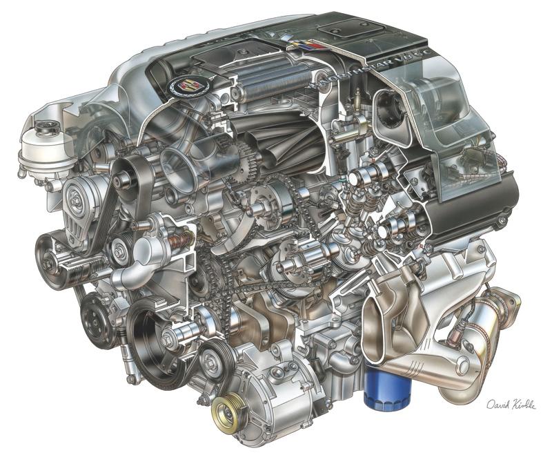 Vintage V8s Exploring 100 Years Of Cadillac Engines Engine Rhenginebuildermag: Northstar 4 6 V8 Engine Diagram At Elf-jo.com