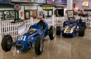 This will give you an idea of the quality of the Smith Museum of Speed (www.museumofamericanspeed.com). Those are actual Indy garages, disassembled at the track and reassembled in Speedy's museum. The brick in front of the garages are actual Indy bricks.
